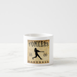 1886 Yonkers New York Baseball Espresso Cup