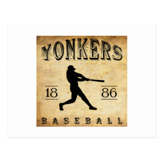 1886 Yonkers New York Baseball Postcard