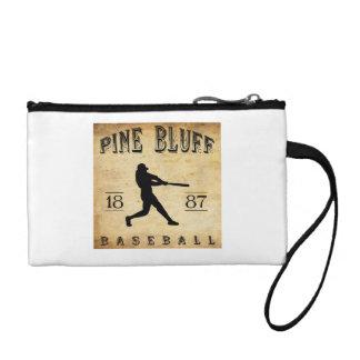 1887 Pine Bluff Arkansas Baseball Coin Wallet