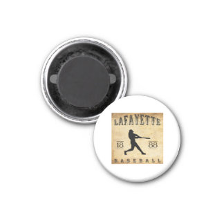 1888 Lafayette Indiana Baseball Magnet