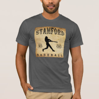 1888 Stamford Connecticut Baseball T-Shirt