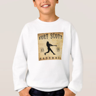 1891 Fort Scott Kansas Baseball Sweatshirt