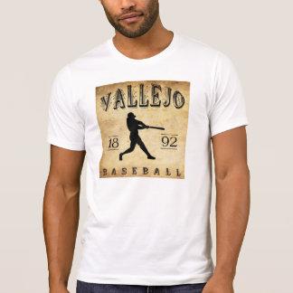 1892 Vallejo California Baseball T-Shirt