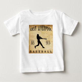 1893 East Liverpool Ohio Baseball T-shirts