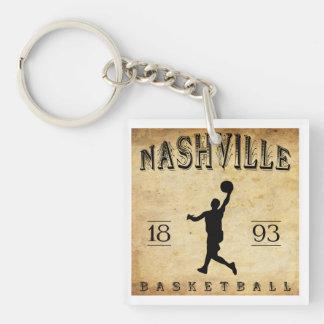 1893 Nashville Tennessee Basketball Key Ring