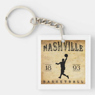 1893 Nashville Tennessee Basketball Key Ring