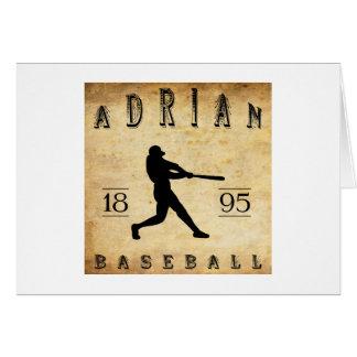 1895 Adrian Michigan Baseball Card