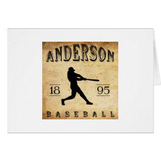 1895 Anderson Indiana Baseball Card