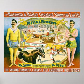 1895 ~ Vintage Circus Poster.