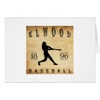 1896 Elwood Indiana Baseball Card