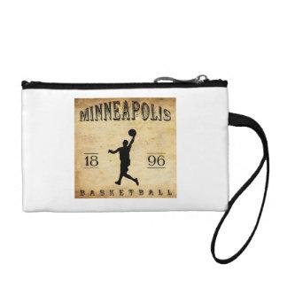 1896 Minneapolis Minnesota Basketball Coin Purse