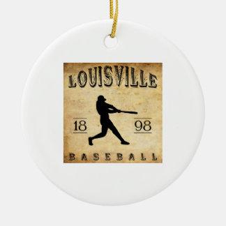 1898 Louisville Colorado Baseball Christmas Ornament