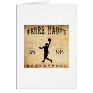 1898 Terre Haute Indiana Basketball Card