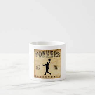 1898 Yonkers New York Basketball Espresso Cup