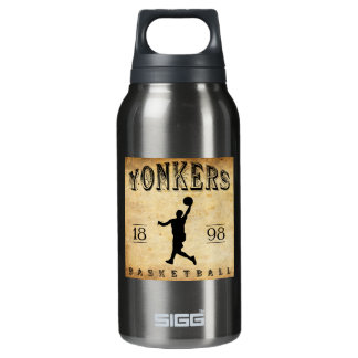 1898 Yonkers New York Basketball Insulated Water Bottle