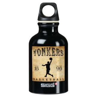 1898 Yonkers New York Basketball Water Bottle