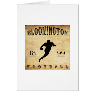 1899 Bloomington Indiana Football Card