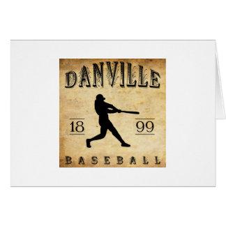 1899 Danville Indiana Baseball Card