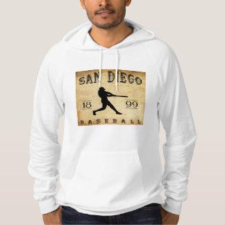 1899 San Diego California Baseball Hoodie