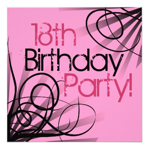 Eighteenth Birthday Invitations was adorable invitations ideas