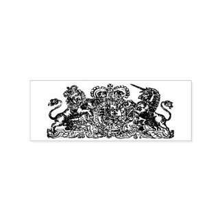 18th century Royal Coat of Arms Ink Stamp