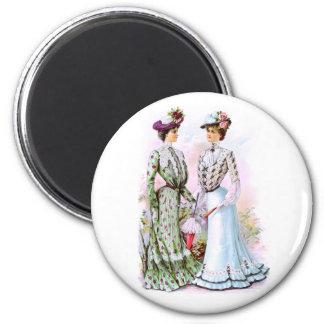 1901 Vintage Dresses Magnet