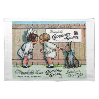 1905 Chocolate Candy Ad Placemat