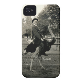 1910 Ostrich Riding Case-Mate iPhone 4 Case