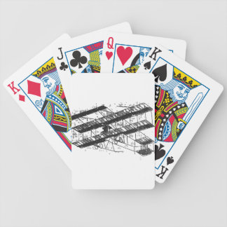 1910inaviation-farman3biplane-losangeles bicycle playing cards