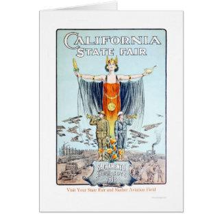 1918 California State Fair Card