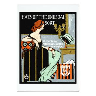 1920 Fashion Poster 13 Cm X 18 Cm Invitation Card