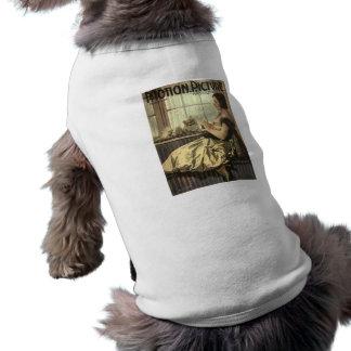 1921 Norma Talmadge & Dog movie magazine Sleeveless Dog Shirt
