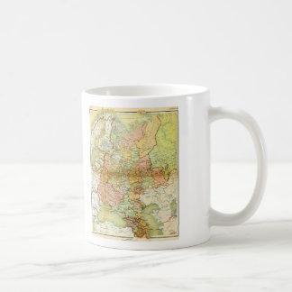 1928 Map of Old Soviet Union USSR Russia Basic White Mug