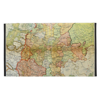 1928 Map of Old Soviet Union USSR Russia iPad Case
