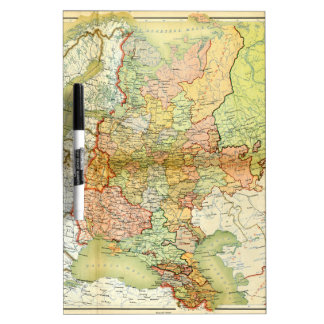 1928 Map of Old Soviet Union USSR Russia Dry-Erase Whiteboard