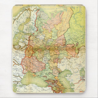 1928 Map of Old Soviet Union USSR Russia Mouse Pad