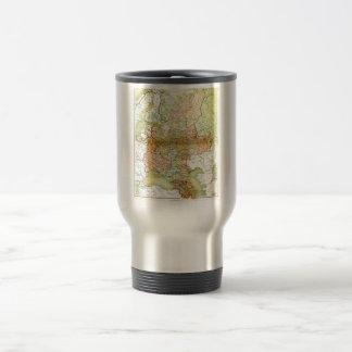 1928 Map of Old Soviet Union USSR Russia Coffee Mug