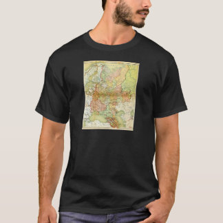 1928 Map of Old Soviet Union USSR Russia T-Shirt