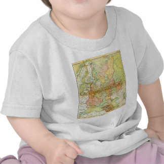 1928 Map of Old Soviet Union USSR Russia T Shirt