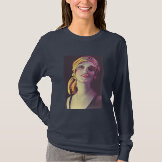 1930's Gypsy Glamour Girl T-Shirt