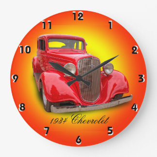 1934 CHEVROLET LARGE CLOCK