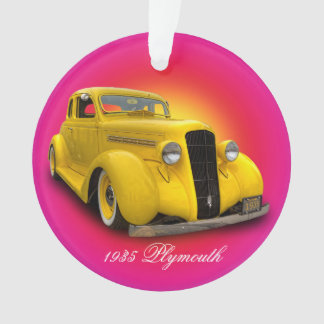 1935 PLYMOUTH ORNAMENT