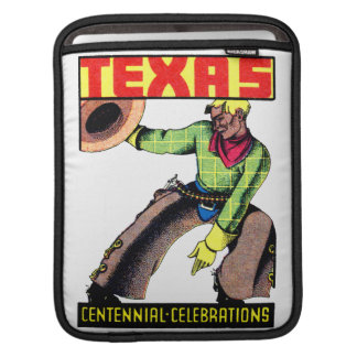 1936 Texas Centennial iPad Sleeve