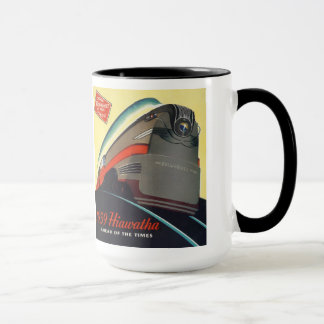 1939 Hiawatha Locomotive Mug