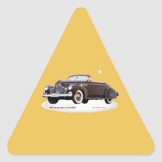 1941_Buick_Super_convertible Triangle Sticker