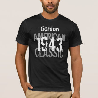 1943 American Classic 70th Birthday Gift for Him T-Shirt
