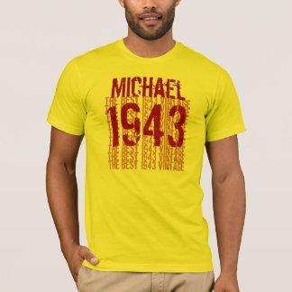 1943 Birthday Year  The Best 1943 Vintage W1989 T-Shirt