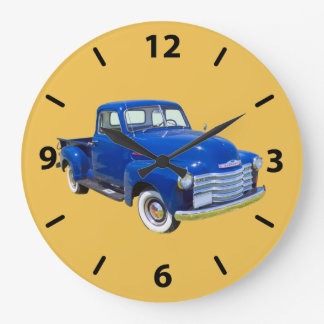 1947 Chevrolet Thriftmaster Antique Pickup Truck Large Clock