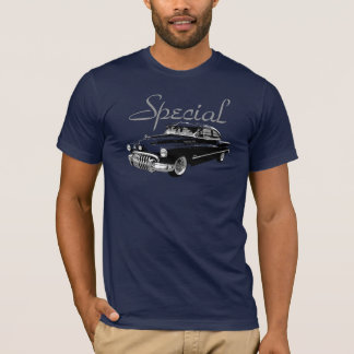 1950 Buick Fastback Sedan on colored t-shirt