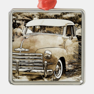 1950's Classic Chevy Chevrolet Truck Christmas Ornament